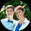 Ольга Фомина и ее сын Никита